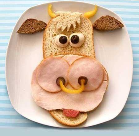 Смешные завтраки - фото