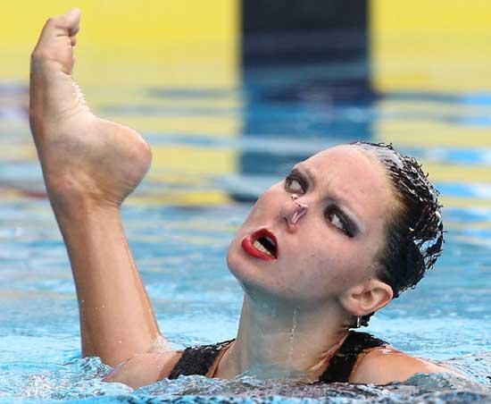 Смешные фото спортсменок