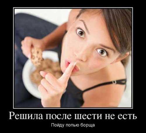 Смешные статусы про еда диета секс