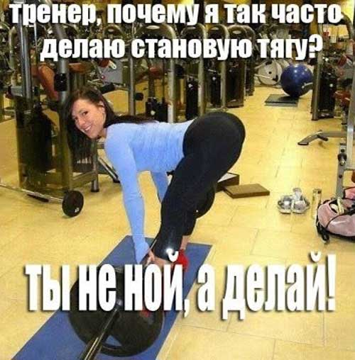 Смешные картинки про фитнес