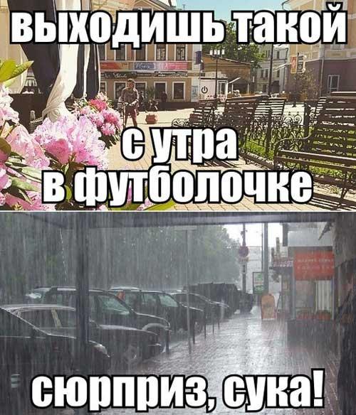 Картинки про погоду с юмором