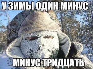 Прикольные картинки про зиму