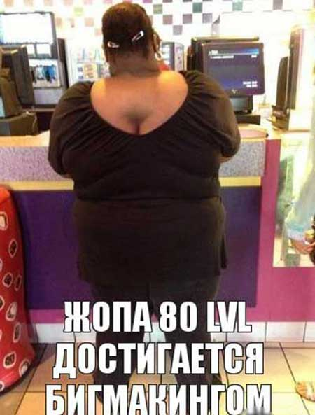 Картинки про толстых женщин с надписями