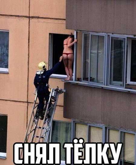 Смешные картинки про пожарных