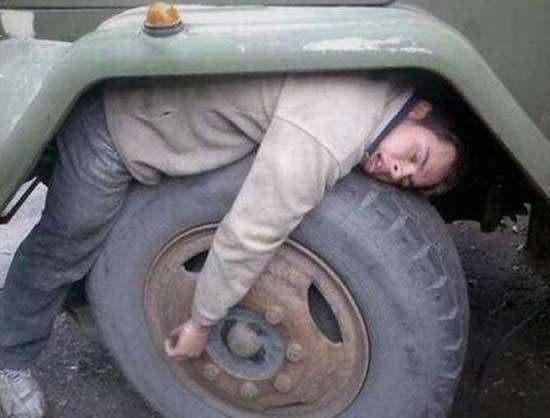 Смешные фото спящих людей