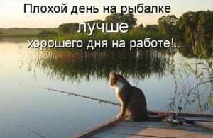 Прикольные стихи про рыбалку