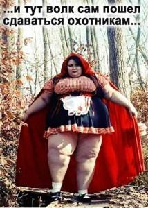 Смешные фото толстушек